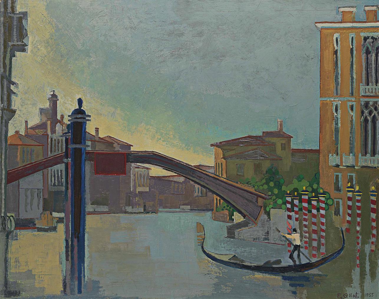 Francoise Gilot-Le Grand Canal De Venise-1955