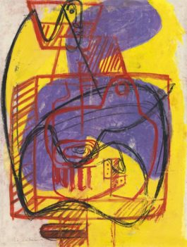Le Corbusier-Icone Et Nature Morte-1946