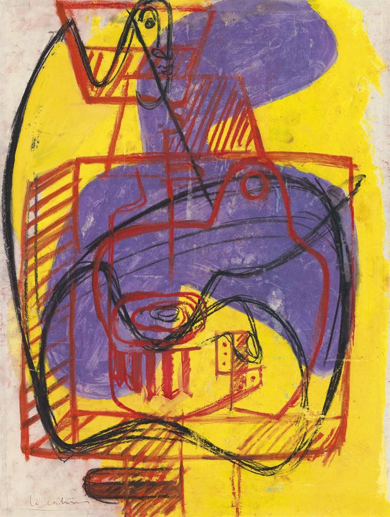 Le Corbusier-Icone Et Nature Morte-1946