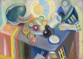Robert Delaunay-La Verseuse Portugaise-1916