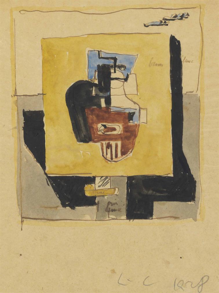 Le Corbusier-Nature Morte Sur Un Gueridon-1928