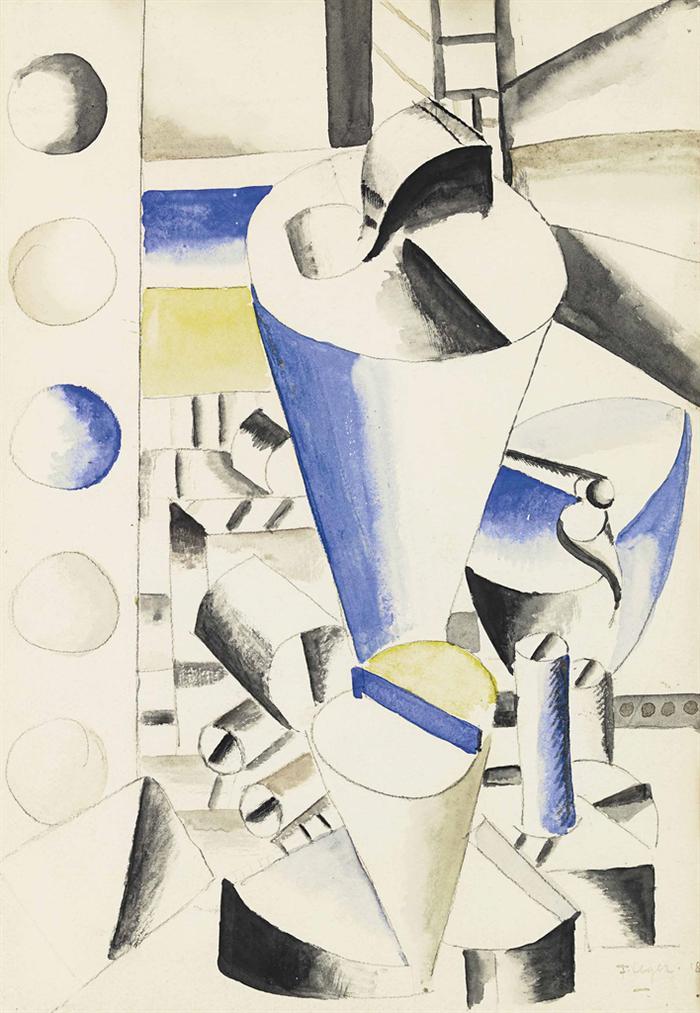 Fernand Leger-Elements Mecaniques-1918