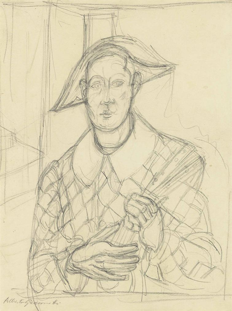 Alberto Giacometti-Larlequin-1936