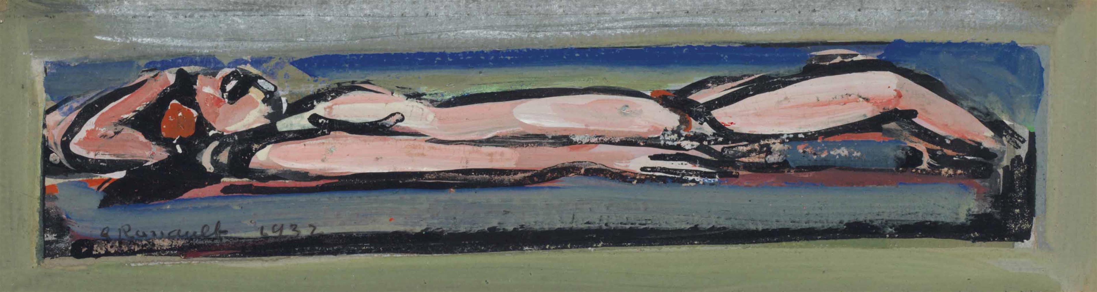 Georges Rouault-Nu Allonge-1932