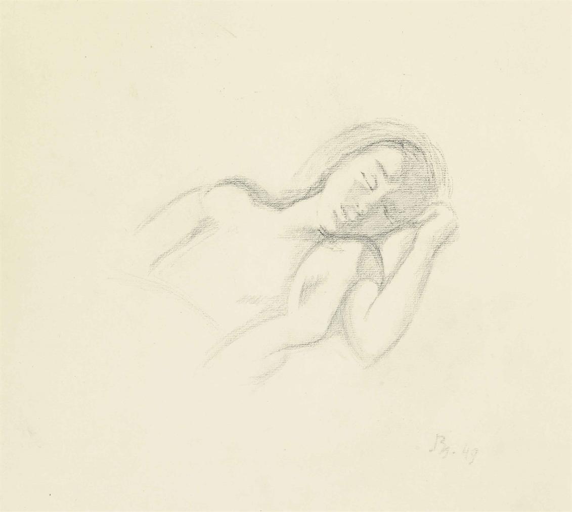 Balthus-Jeune Fille Assoupie-1949