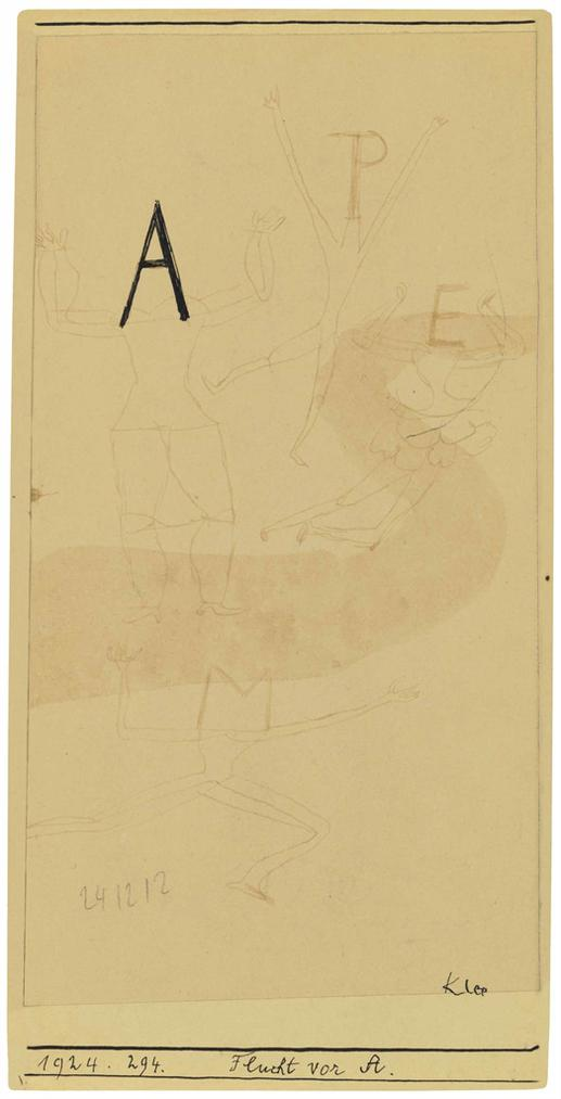 Paul Klee-Flucht Vor A.-1924