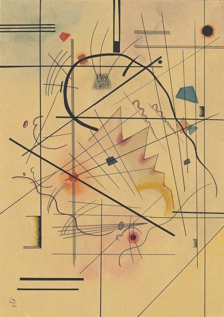 Wassily Kandinsky-Dunner Druck-1924