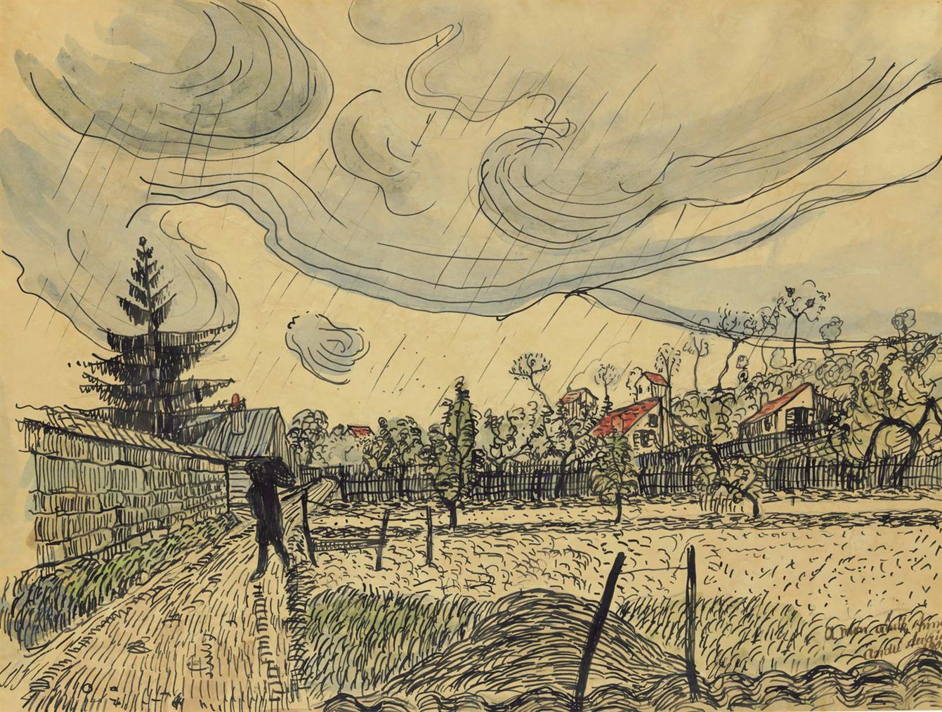 Andre Derain-Paysage-1902