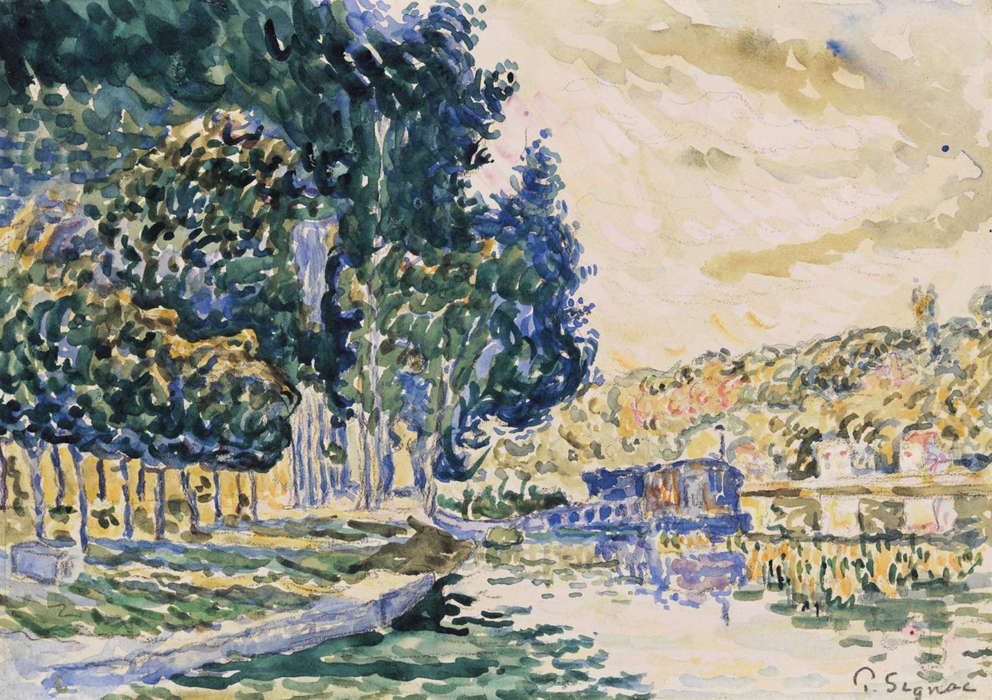 Paul Signac-Samois-1900