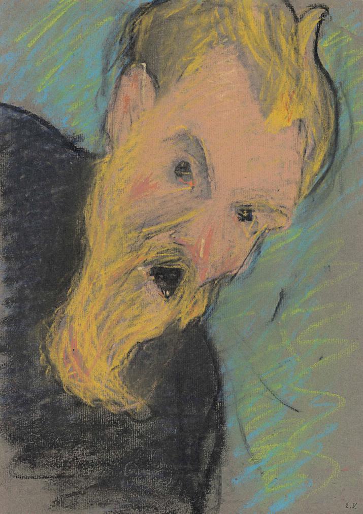 Edouard Vuillard-Lacteur-1891