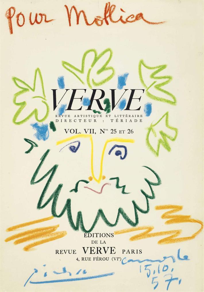 Pablo Picasso-Verve-1957