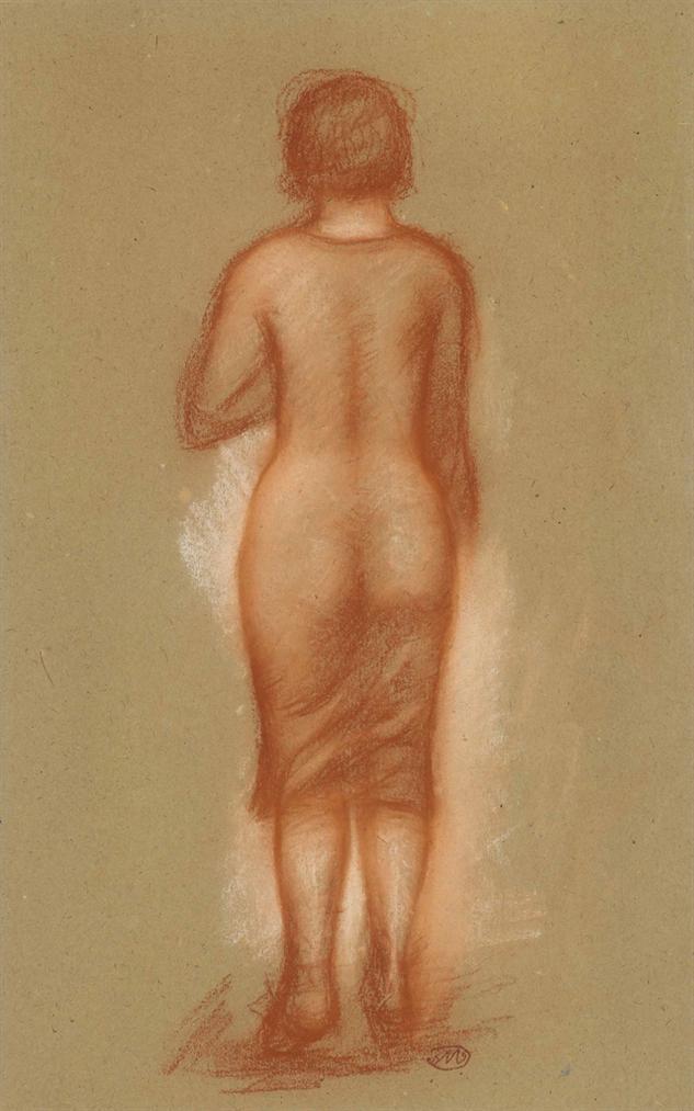 Aristide Maillol-Femme Debout-1920