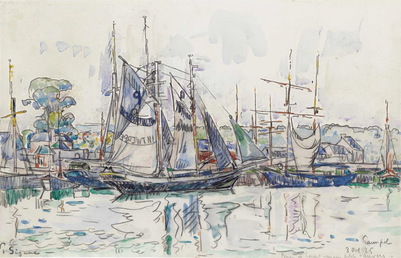 Paul Signac-Paimpol-1925