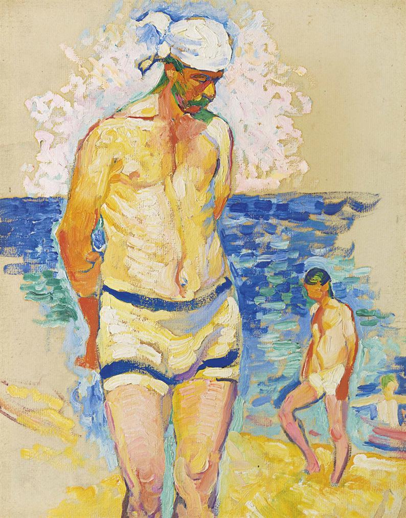 Henri-Edmond Cross-Etude Pour Le Lesteur-1906
