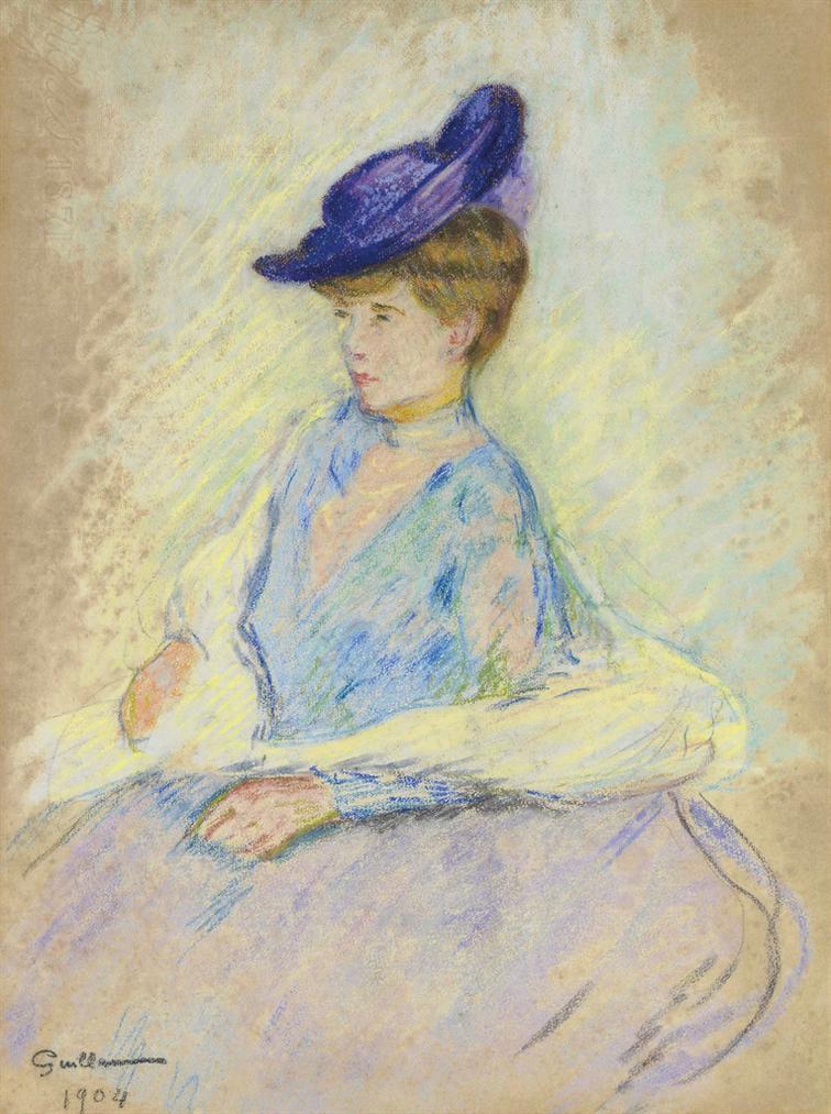 Jean-Baptiste Armand Guillaumin-Femme Assise-1904