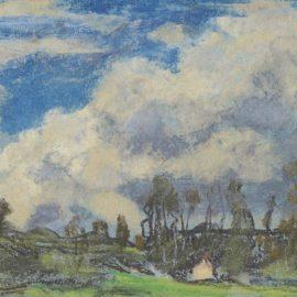 Claude Monet-Les Nuages-1869