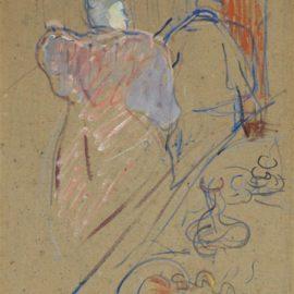 Henri de Toulouse-Lautrec-Largent (Comedie En 4 Actes De M.E. Fabre)-1895