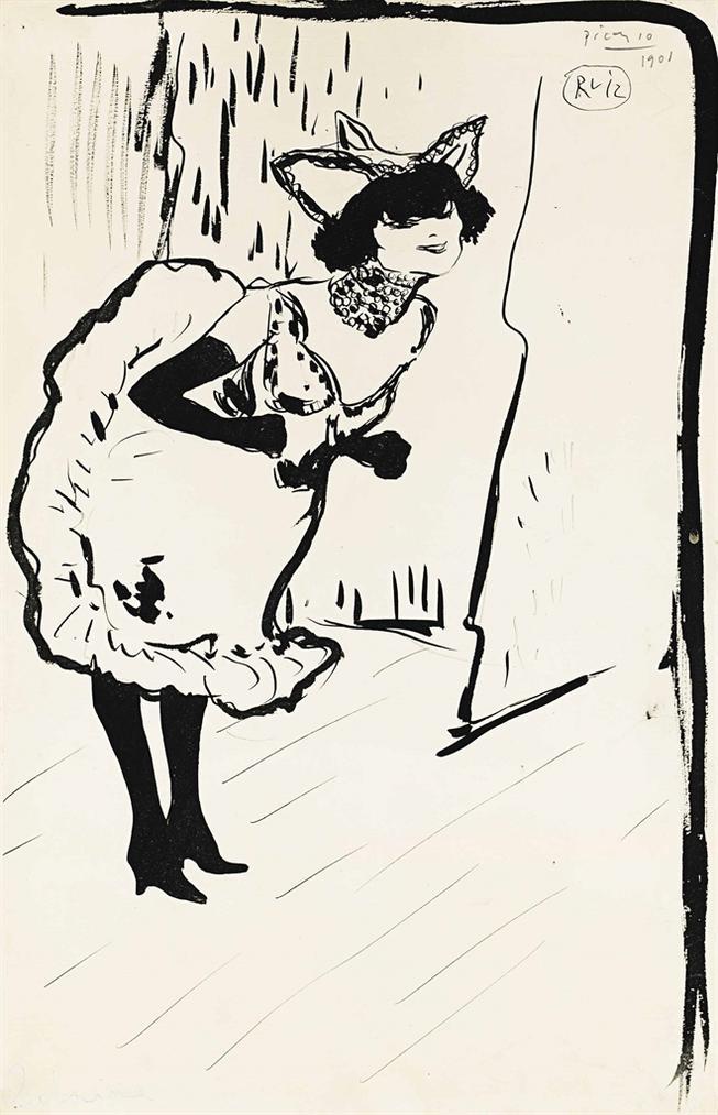 Pablo Picasso-Polaire-1901