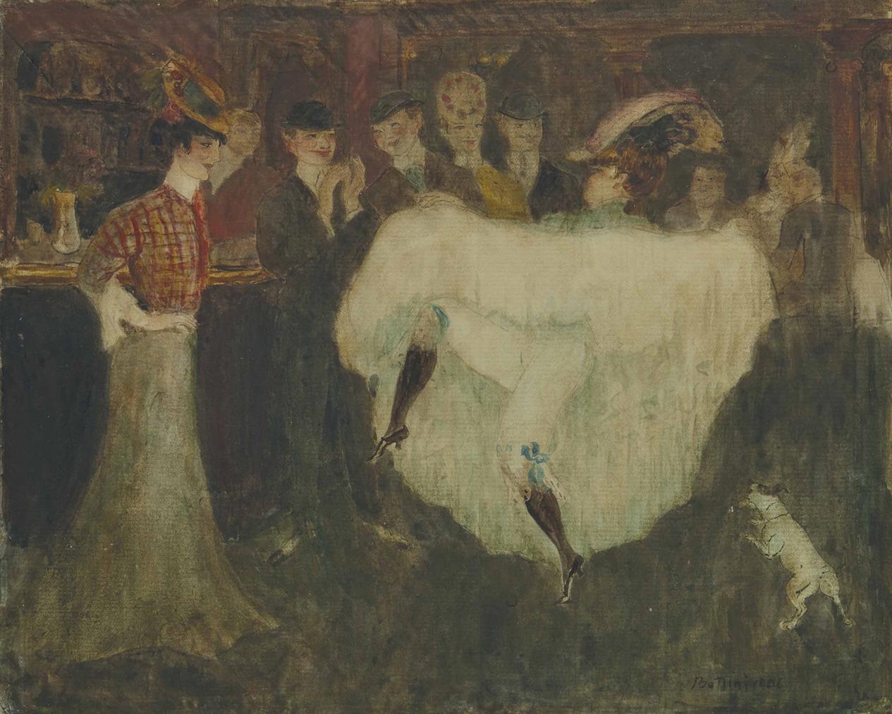 Georges Bottini-La Mome Picrate Dansant Au Bar-1906