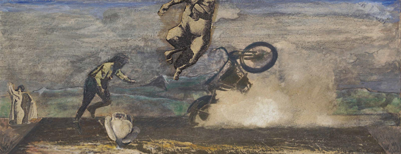 Max Ernst-Collage A La Rose-1921