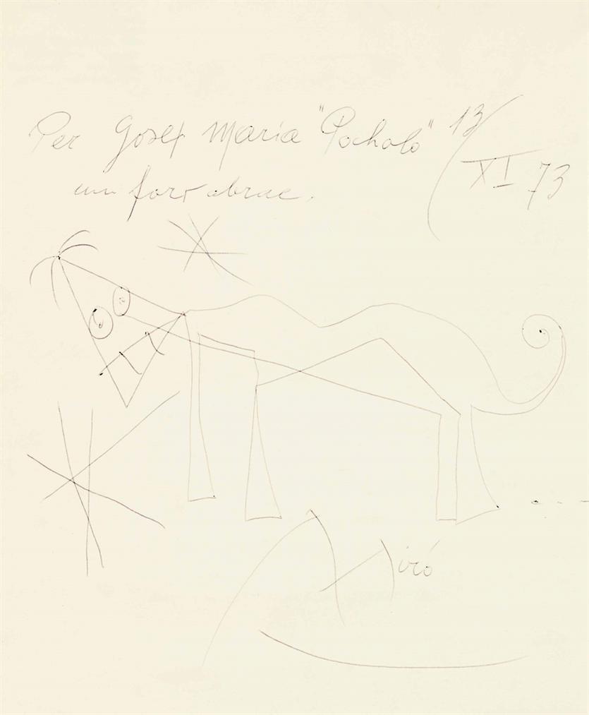 Joan Miro-Sans Titre-1973