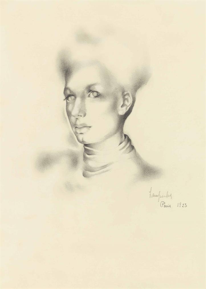 Tamara de Lempicka-Portrait De Femme-1937