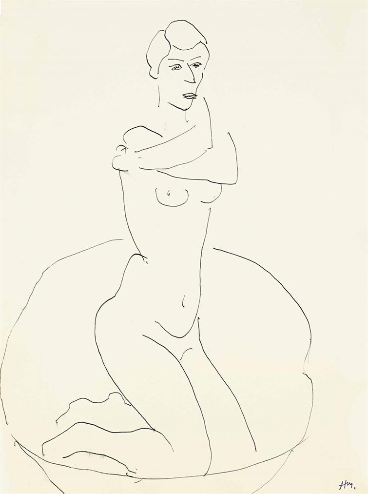 Henri Matisse-Nu Agenouille-1930