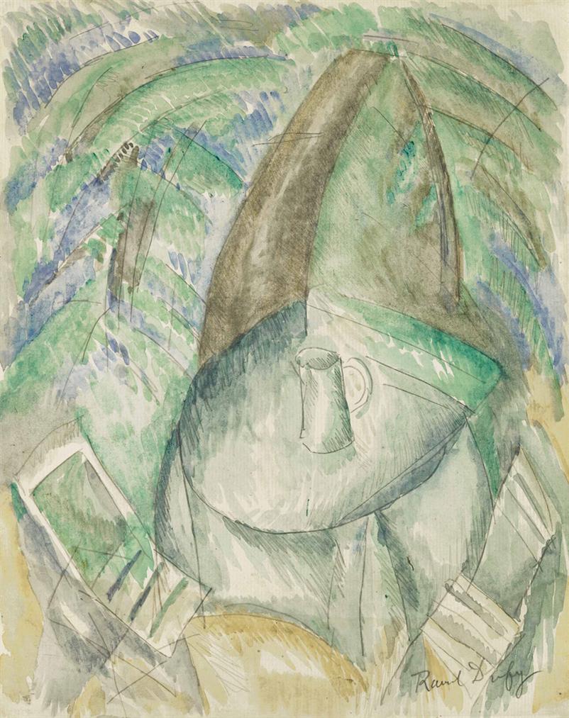 Raoul Dufy-Sous Les Arbres-1913