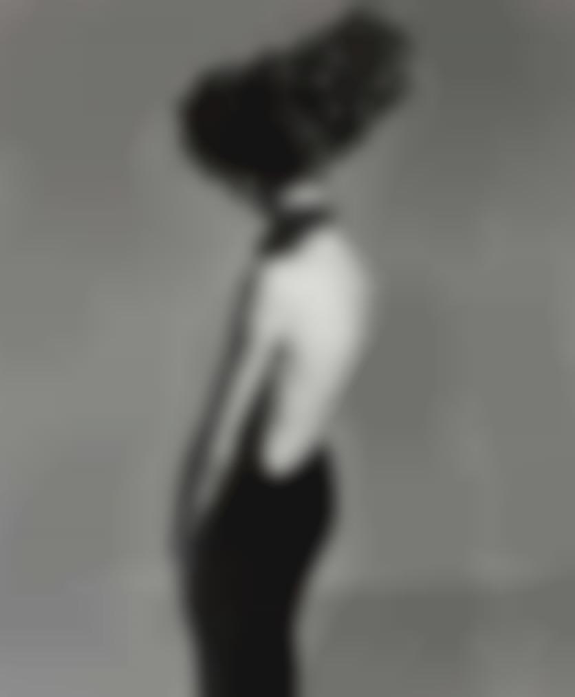 Richard Avedon-Jean Shrimpton, Evening Dress By Galitzine, Hair By Alexandra, Paris Studio, August 1965-1965