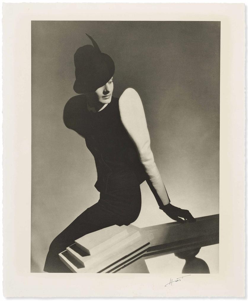 Horst P. Horst-White Sleeve, Vogue, Paris-1939