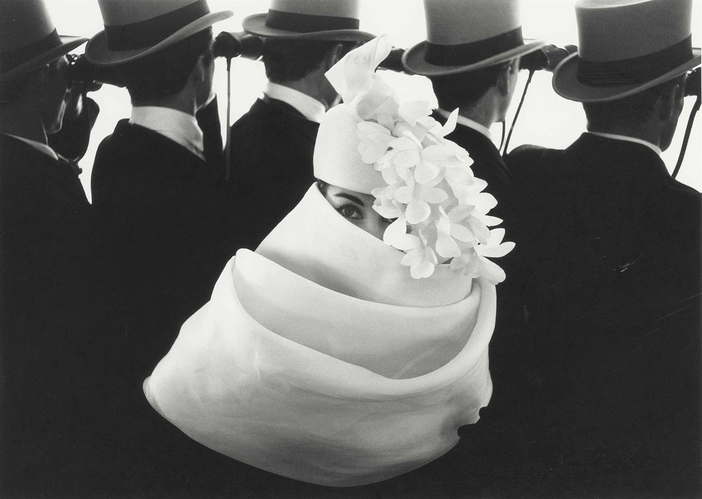 Frank Horvat-Givenchy Hat, Paris-1958