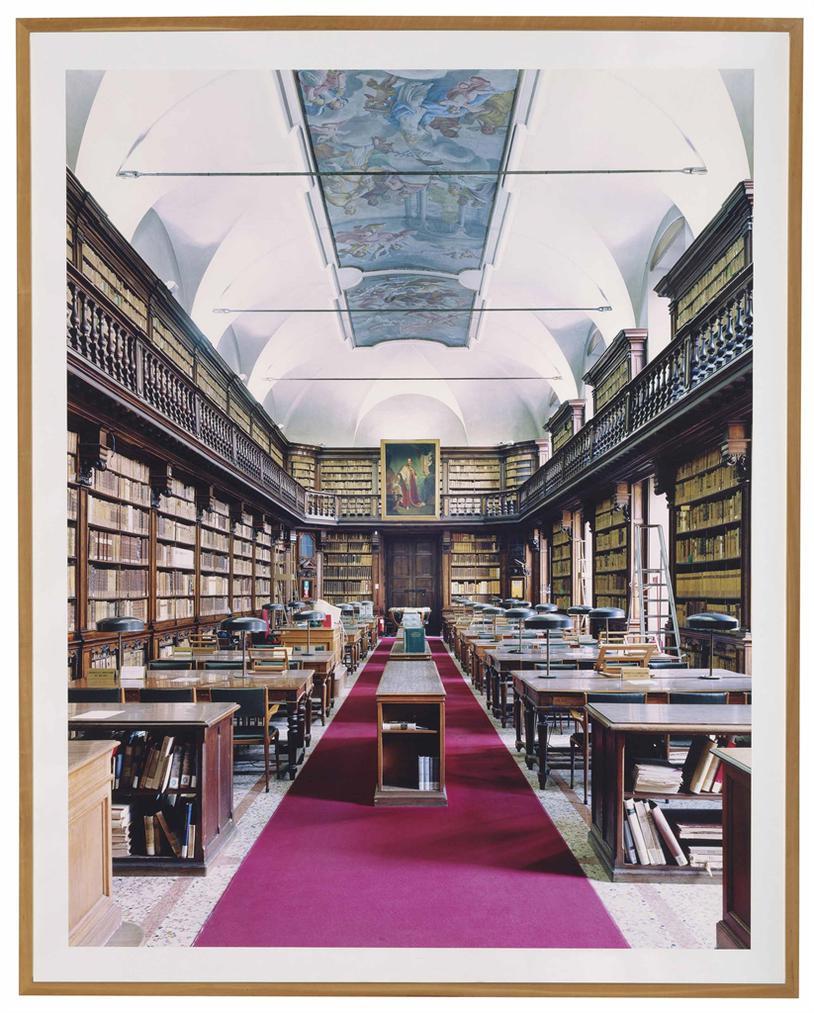Candida Hofer-Biblioteca Di Brera Milano IV-2005
