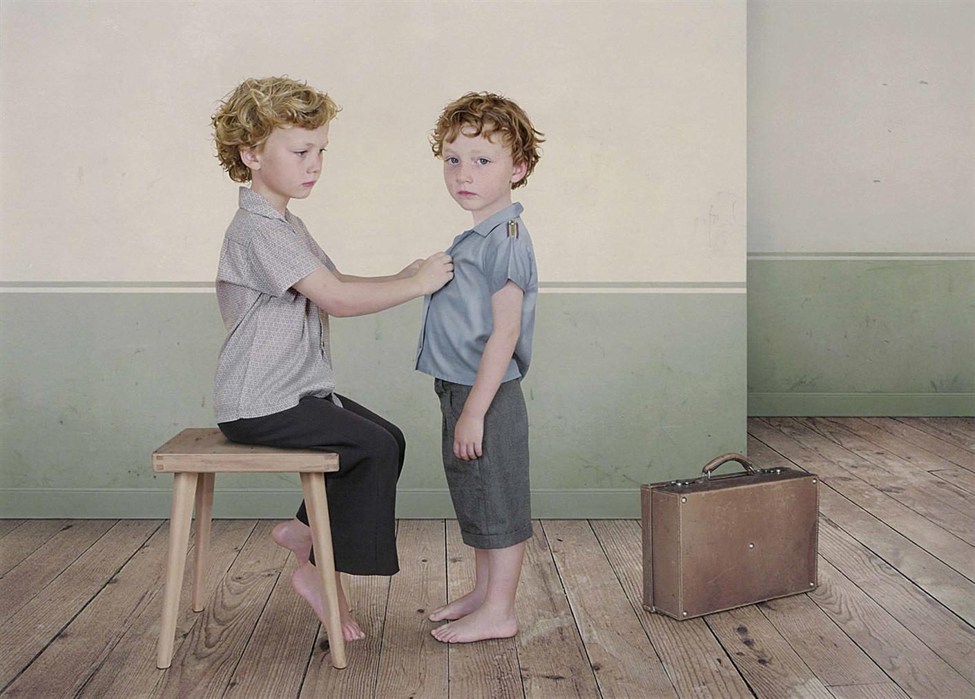 Loretta Lux-Hugo And Dylan 2-2006