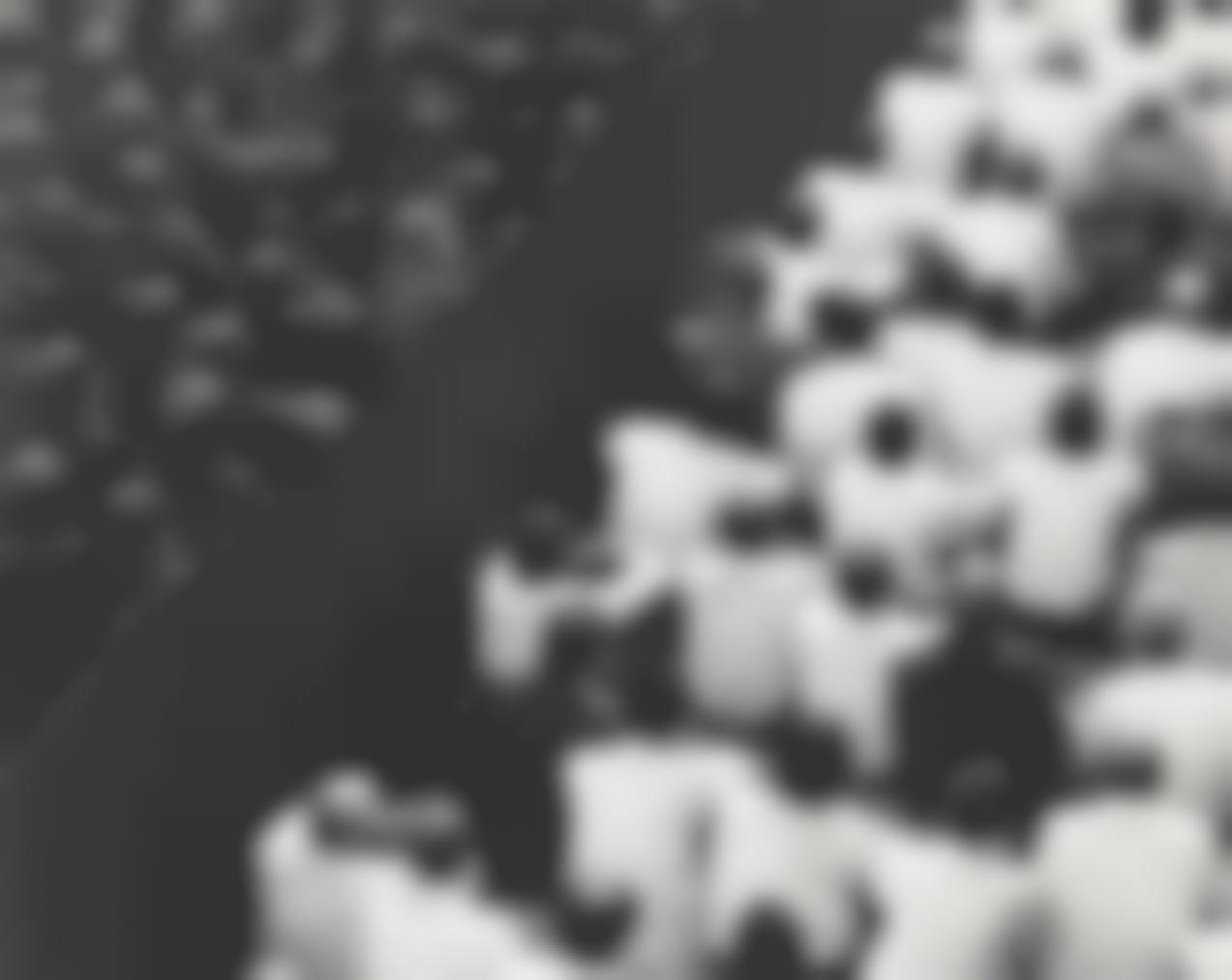 Shirin Neshat-Fervor Series (Crowd From Back, Close Up)-2000