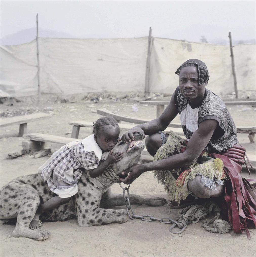 Pieter Hugo-Mummy Ahmadu And Mallam Mantari Lamal With Mainasara, Abuja, Nigeria-2005