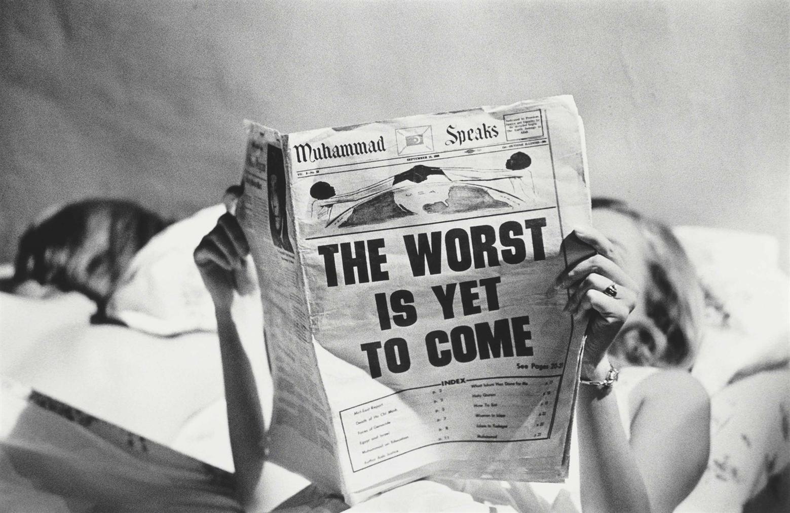Steve Schapiro - The Worst Is Yet To Come, New York-1968