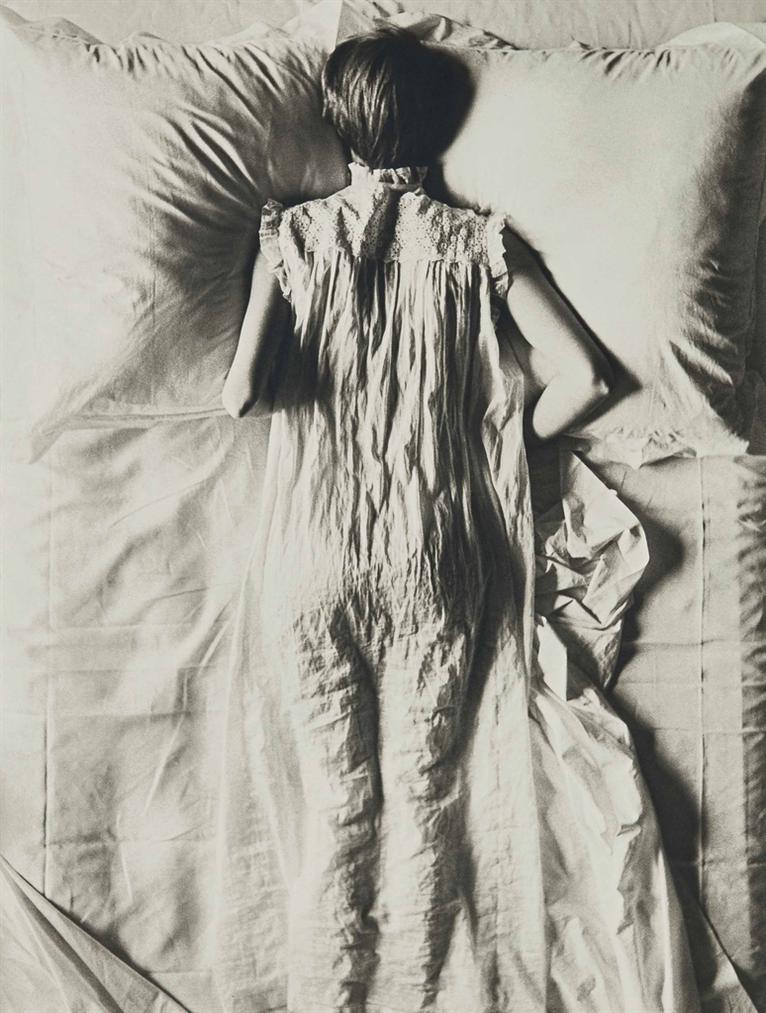 Irving Penn-Girl In Bed (Jean Patchett), New York-1949