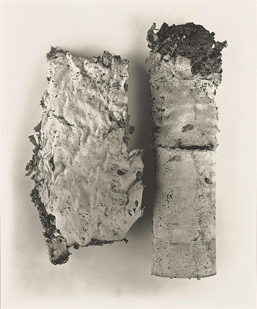 Irving Penn-Cigarette #42, New York-1974