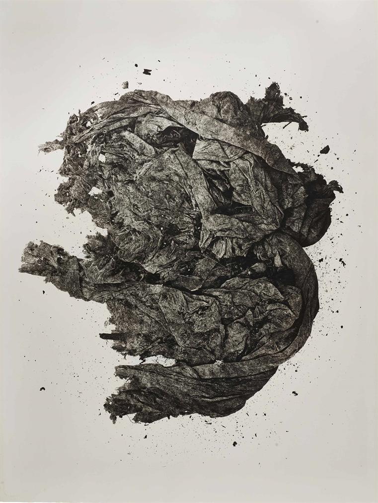 Irving Penn-(Sm) Rag Face, Neg II-1975