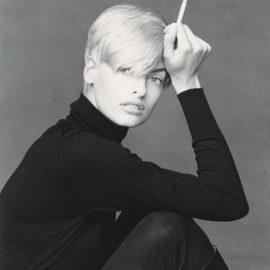 Patrick Demarchelier-Linda, New York-1990