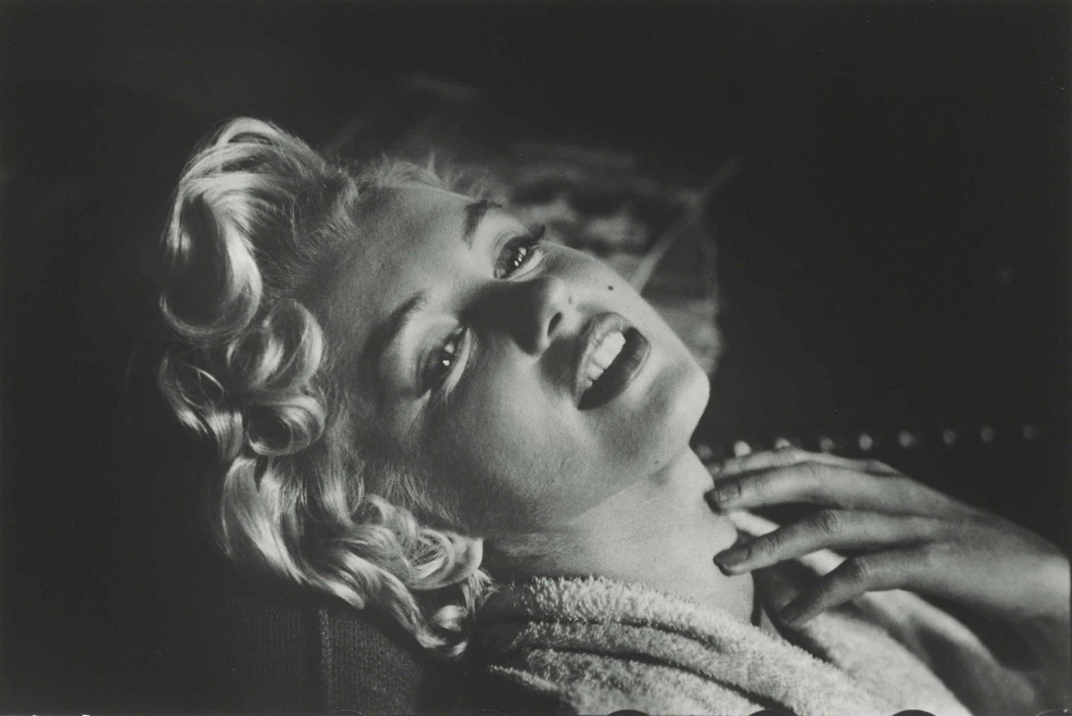 Elliott Erwitt-Marilyn Monroe, New York-1956