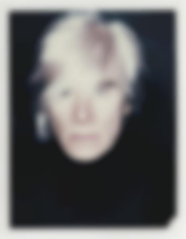 Andy Warhol-Self-Portrait (In Fright Wig)-1986