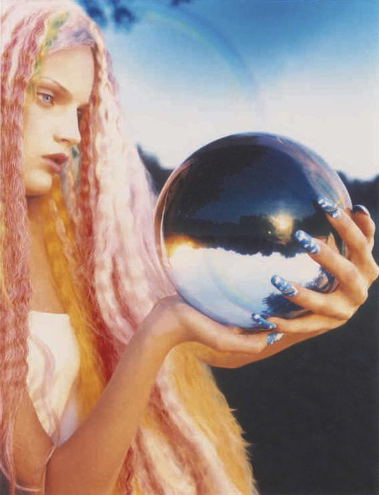 David LaChapelle-Guineveres Crystal Ball, California-1994