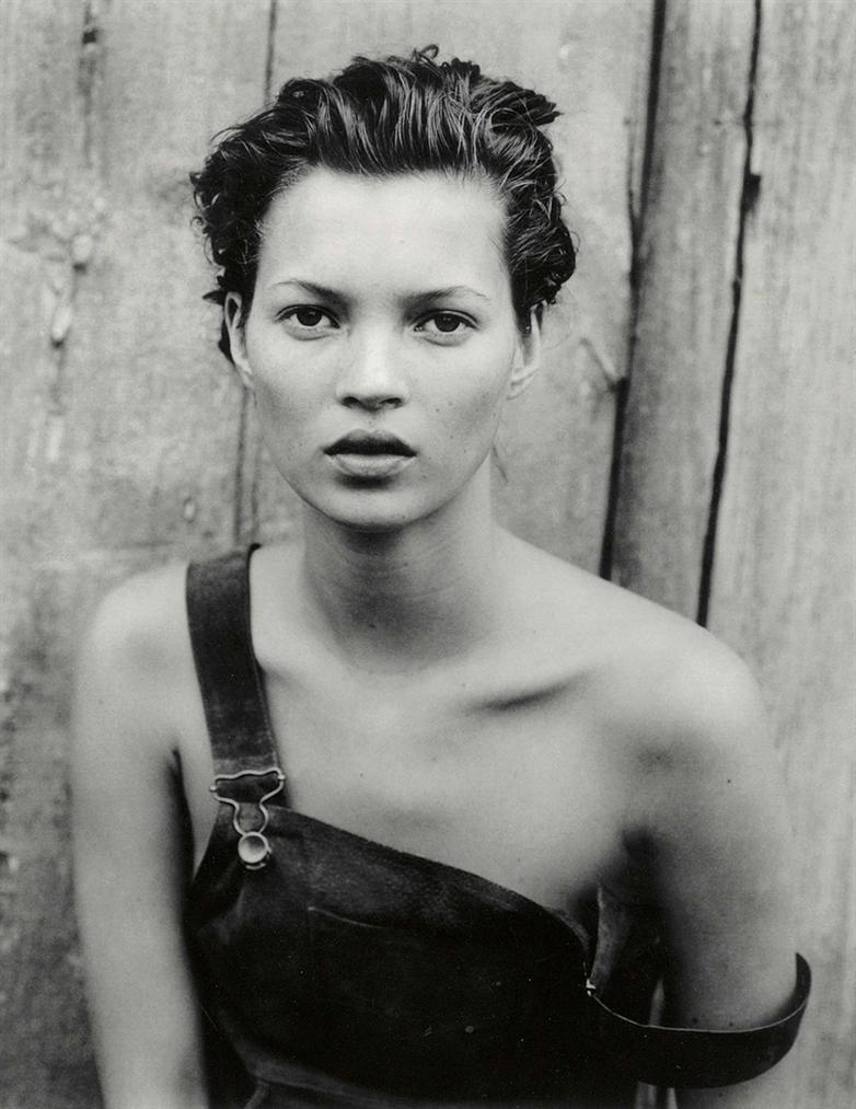 Peter Lindbergh-Kate Moss, Harpers Bazaar, New York-1994