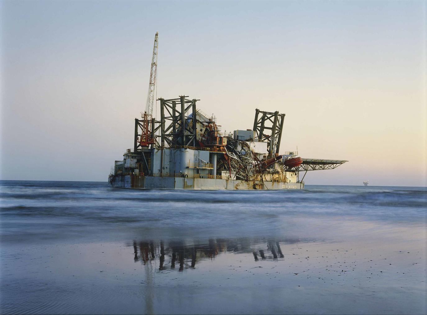 Mitch Epstein - Ocean Warwick Oil Platform, Dauphin Island, Alabama 2005-2005
