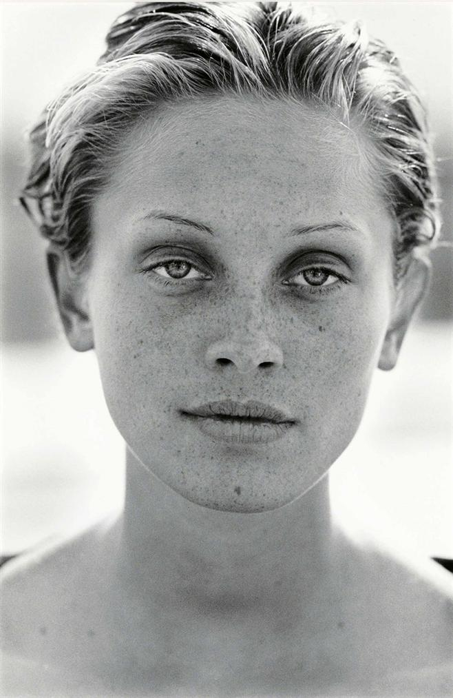 Peter Lindbergh-Berry Smither, Harpers Bazaar, El Mirage, California, U.S.A-1993