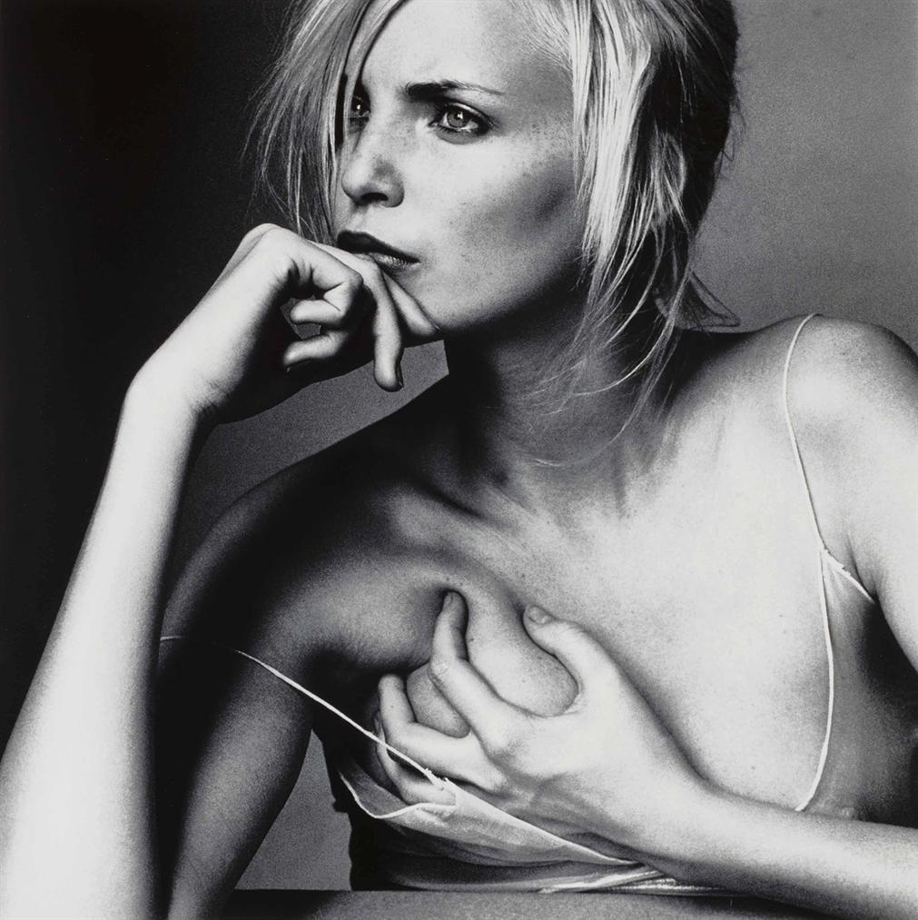 Irving Penn-Nadja Auermann (B), New York, June 22-1994