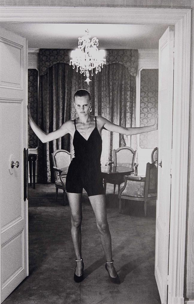 Helmut Newton-Aria At The Negresco Nice-1976