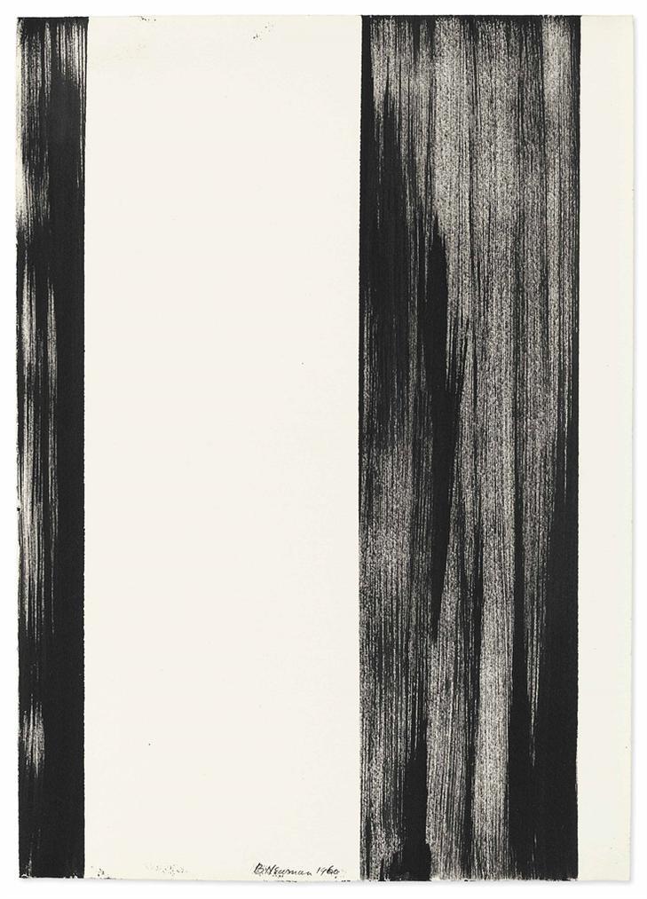 Barnett Newman-Untitled-1960