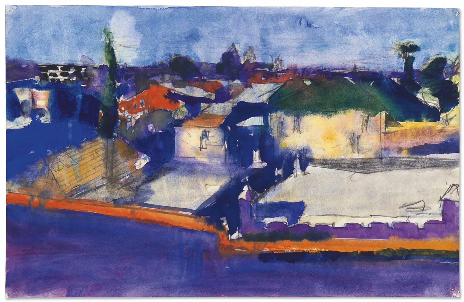 Richard Diebenkorn-Untitled-1966